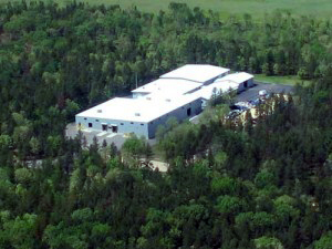 Aerial shot of our facility